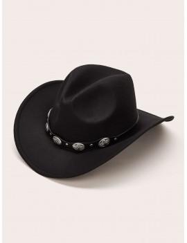 Belt Decor Cowboy Hat