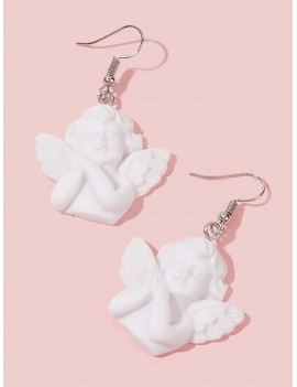 1pair Angel Drop Earrings
