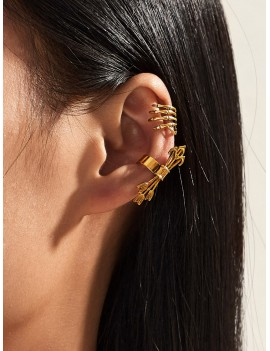 2pcs Arrow Ear Cuff