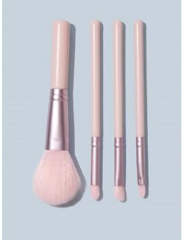 4pcs Solid Makeup Brush Set