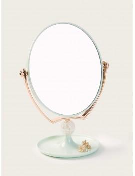 Random Color Oval Pedestal Mirror 1pack