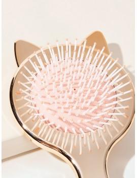 Cat Design Massage Hair Comb