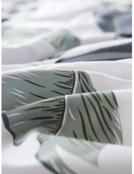 Leaf Print Pillowcase 1Pair