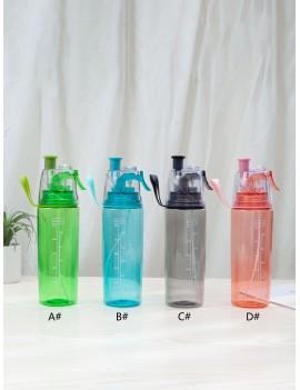 1pc Sport Spray Water Bottle