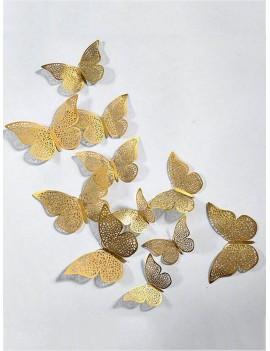 3D Butterfly Wall Decor 12pcs