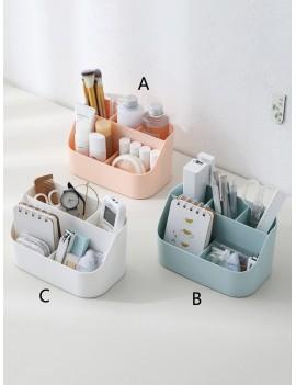 1pc Desktop Multi-compartment Storage Box