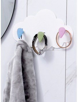 Cloud Wall Mounted Hook