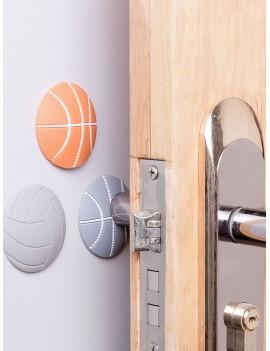 4pcs Basketball Design Anti-collision Pad