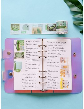 Button Loose-leaf Notebook 1pack
