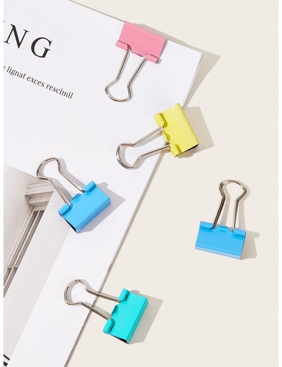 40pcs Colorful Metal Binder Clip
