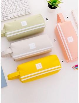 Double Zipper Pencil Case 1pc