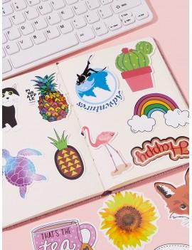 Cute Mixed Pattern Sticker 30pcs