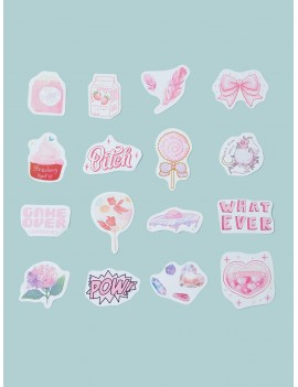 50pcs Cartoon Mixed Pattern Sticker