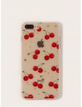 Cherry Pattern iPhone Case