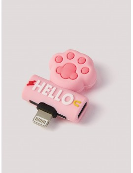 Cat Claw Design 2 In 1 USB Converter