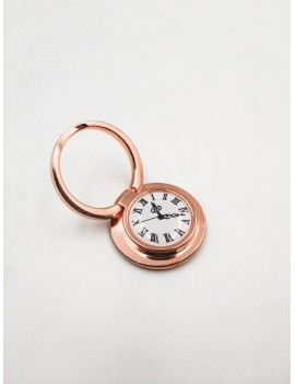 Clock Print Foldable Phone Holder