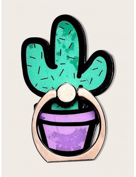 Cactus Design Phone Holder Ring